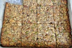 Protein packed power bars 12g F, 8g C, 10g P