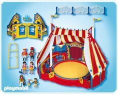 PLAYMOBIL  4230 CIRCUS  MISB!NEW!!!