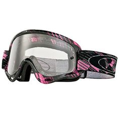 0a4c52eb5f Amazon.com  Oakley XS O-Frame MX Digi-Slash Goggles (Black Frame Black  Iridium Lens)  Sports   Outdoors. Motocross GirlsMotocross GogglesDirt Bike  ...
