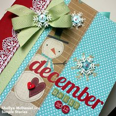 **For the UNITY BLOG HOP, click -- HERE --**   Oh, December Daily, how do I love thee!   Isn't this just the greatest idea, ever? (scrapbo...