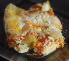 Cheese stuffed Manicotti - Recipe Diaries