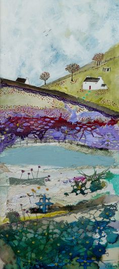 ''A cottage in the orchard'' By Louise O'Hara