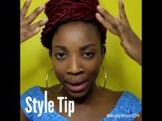 """STYLE TIP with AMOUR SYNTHETIC KANEKALON CROCHET BRAIDS NATTY GODDESS DREADLOCKS 20"""" by Chade Fashions as seen on the gorgeous @rosepetal5090 on Instagram 💗💘 Available @ samsbeauty.com 💋💋💋 #diy #tutorial #crochetbraids #braids #hair #goddesslocs #goddessdreadlocs #dreadlocs #dreadlocks"""