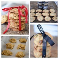 Lakris-cookies med hvit sjokolade   lars spiser – oppskrifter & matglede Muffin, Breakfast, Amp, Food, Morning Coffee, Essen, Muffins, Meals, Cupcakes