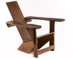 Early-Westport-Chair. Precursor to the well known Adirondack chair.