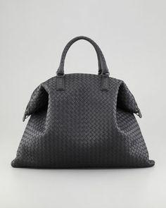Love...Love...Love this bag. Just wish it was a little less expensive:)   Convertible Veneta Tote Bag, Black by Bottega Veneta at Neiman Marcus.