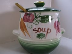 Vintage Soup Tureen by DelightsbyJudy on Etsy, $25.00