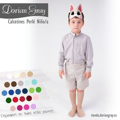 Calcetines de perlé Dorian Gray Niño/a http://tienda.doriangray.es/collections/ni-o-a/calcetines+verano #kids #socks #DorianGray
