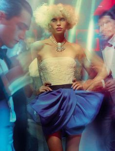 Vogue Italia March 2014   Aline Weber by Miles Aldridge  Editorial  Vogue  Magazine, 2fb8e31cd0