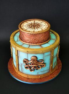 Nautical cake by ArchiCAKEture