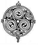 I like the circle and swirly's surrounding the main image