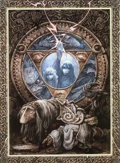 Such a strange movie but I could not look away. Dark Crystal