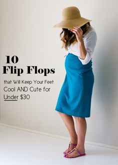 You'll love these flip flops for summer.