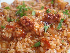 Ριζότο με χταπόδι Chana Masala, Food And Drink, Ethnic Recipes