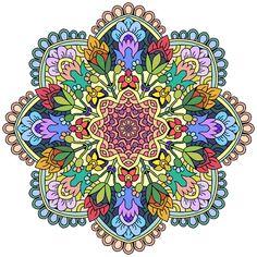Star Coloring Pages by Number Star Coloring Pages, Coloring Pages For Grown Ups, Coloring Apps, Mandala Coloring Pages, Coloring Books, Coloring Stuff, Colouring, Mandala Art, Mandala Drawing