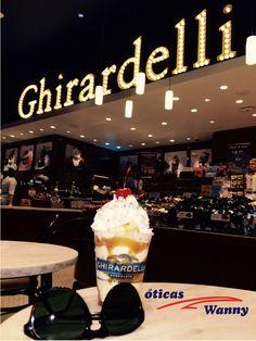 Que tal tomar um delicioso sorvete? Não se esqueça de levar um belissimo óculos de sol para acompanhar! #persol #sunglasses #online #shop #oticas #wanny