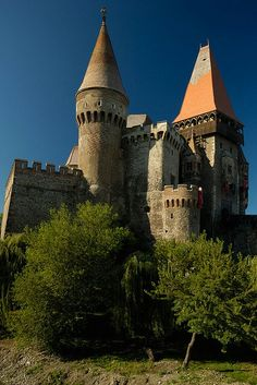 Hunedoara castle, Transylvania, Romania www.romaniasfriends.com