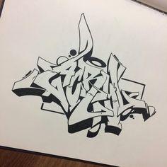 """""""Acryl"""" #causeturk #stilbaz #balcans #abk #sketch #acryl #style #art #graffiti #graffart #instagraff #blackbook #drawing #acryl #bursa #bursagraffiti #turkey"""
