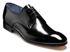 11c4a91c5a222 Barker Rutherford mens hi-shine derby shoe http://www.robinsonsshoes.