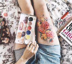 "12.5 mil Me gusta, 110 comentarios - ⠀ ⠀⠀⠀ ⠀ J i m e n a (@renosaurio) en Instagram: ""Choose your own canvas ☺️ I've used a bunch of products // he usado un popurrí de productos :-)…"""