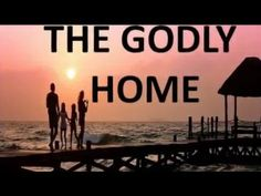 THE GODLY HOME.  How will you build?  Will you follow the designer's Blueprint?  A Christ-centred marriage.   What of your Foundation?  Will it be shifting sands or solid rock - a grounded, saving Faith in Christ and His sure Word?  Will the structure be Biblical roles that honour the Lord?  May your family be built strong, within the overarching cover of the unconditional, self sacrificial, enduring God-quality kind of love.