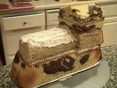make train cake - Google Search