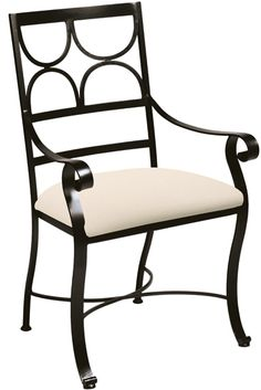 Camino Arm Chair  > Made in USA by Charleston Forge.