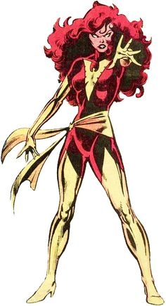 Dark Phoenix (Jean Grey) by John Byrne and Joe Rubenstein (Marvel)
