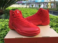 "Air Jordan (Retro) 12 ""Red Suede"""