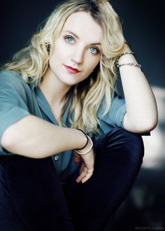I've always loved Luna. She inspired me to stay true to myself even if people think yur crazy. way to go J.K. Rowling or creating a great character and to evanna lynch for bringing her to life.