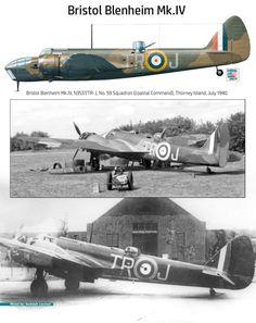 Bristol Blenheim, Nerd Herd, Ww2, Planes, Fighter Jets, Aircraft, Airplanes, Aviation, Plane