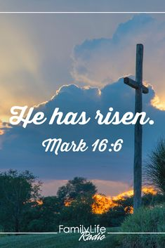If you're feeling overlooked, insignificant or forgotten, let the blood of Jesus free you from bondage. He is risen from the dead. Winter is over. New life has come. #HopeforYourDay