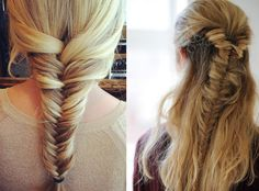 The braid breakdown - instructions for different kinds of braids