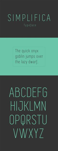 60 Quality FREE Fonts - Simplifica