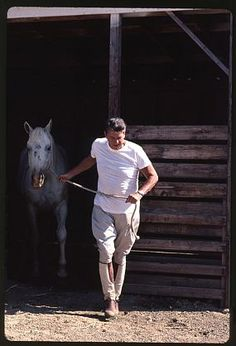 Harry Benson, President Ronald Reagan, Rancho del Cielo, Ed of 35, 1983, Chromogenic print