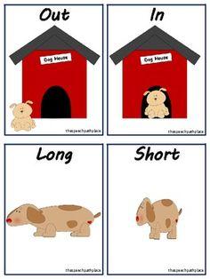 The Speech Path Place: Op-pup-sites Preschool Curriculum, Preschool Worksheets, Speech Language Therapy, Speech And Language, Opposites Preschool, Synonyms And Antonyms, Farm Theme, Education English, English Lessons