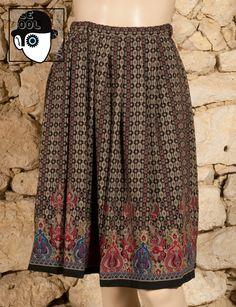 70s 'Lanvin - Paris' skirt.
