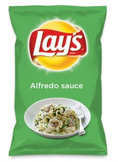 Wouldn't Alfredo sauce be yummy as a chip? Lay's Do Us A Flavor is back, and the search is on for the yummiest flavor idea. Create a flavor, choose a chip and you could win $1 million! https://www.dousaflavor.com See Rules.