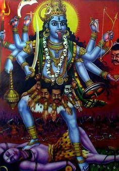 The Goddess Kali, bringer of change, destruction, death.