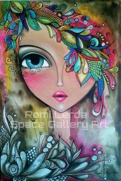 Невыносимый тиражируемый миллиардами сюжет  Face. ROMI LERDA Artista plastica. PAGE. SPACE GALLERY ART