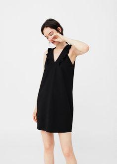 Ruffled dress | MANGO