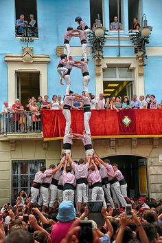 #Castellers #Barcelona #Catalunya #España #Travel #Photography