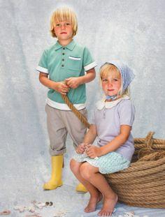 siblings, girl, boy, dress, vintage style,   cuties, kids, children, nostalgia, lace, knit, organic, memini, children's wear, kids style, kids fashion