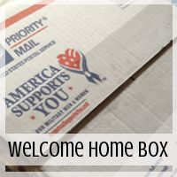 Care Package: Welcome to our New Home  Theme  // Love From Home