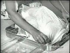 BUTTERBALL TURKEY THANKSGIVING DINNER 1956
