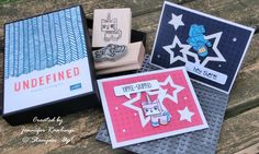 Kids birthday / Lego Unikitty & Benny / 2014 / Stampin' Up! / Undefined Stamp Carving Kit / stampinblessings.wordpress.com