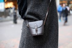 Bag Stalking! The 44 Carryalls That Rock Our World #refinery29 http://www.refinery29.com/58437#slide-23 When it comes to accessories, big is not always best. This Zatchels crossbody proves our point. ...