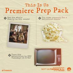 Prepare your hearts AND your homes. #ThisIsUs