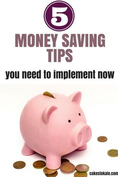 Money saving tips you need to implement now!  Frugal living and budgeting.