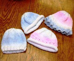 Ravelry: Boone Baby Hats pattern by Valerie Zumwalt